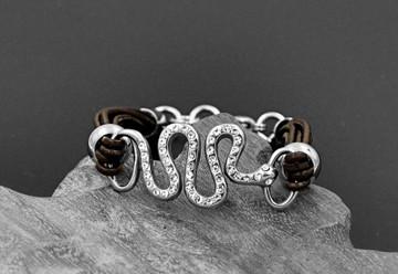 Stainless Steel Snake Bracelet