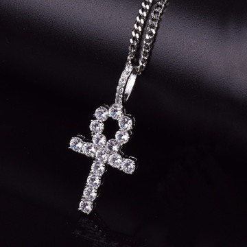 Ankh Cross Pendant Chain