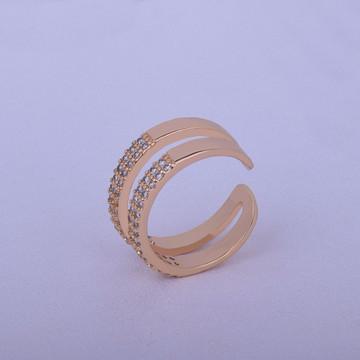 Open Shape Lab Diamond Round Cut Womens Ring