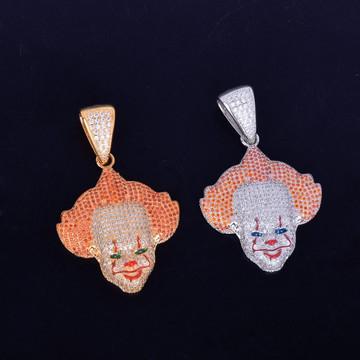 Killer Clown Hip Hop Pendant Chain Necklace