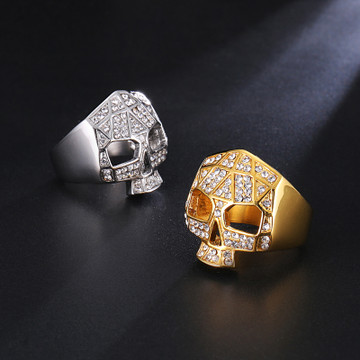 Iced Out Lab Diamond Rings
