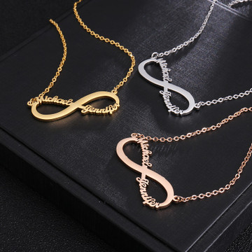 Personalized Custom Name Nameplate Pendants Chain Necklace