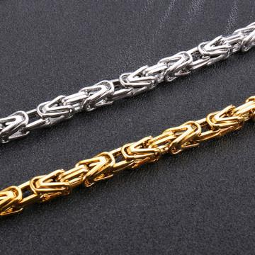 Byzantine Link Chain Necklace