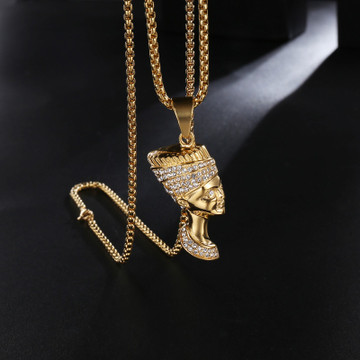 Egyptian Queen Nefertiti Pendant