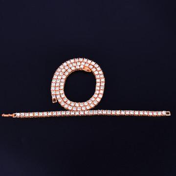 Rose Gold Tennis Chain