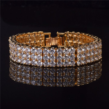 Diamond Cz Stone Pharaoh Bracelet
