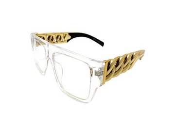 Celebrity Fashion Tyga Inspired Style Stunna Shades Sunglasses Clear