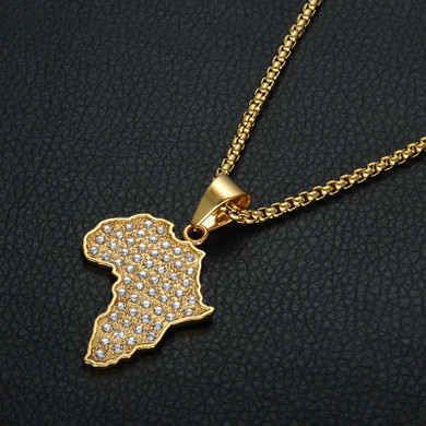 Africa 14k Gold Chain