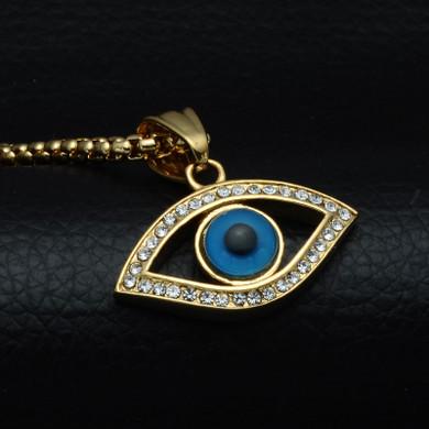 All Seeing Evil Eye Illuminati Chain