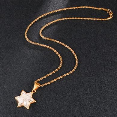 Jewish Magen Star of David Pendant