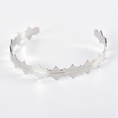 Personality Girl Pineapple Vintage Look Fashion Silver Bracelet Jewelry Set