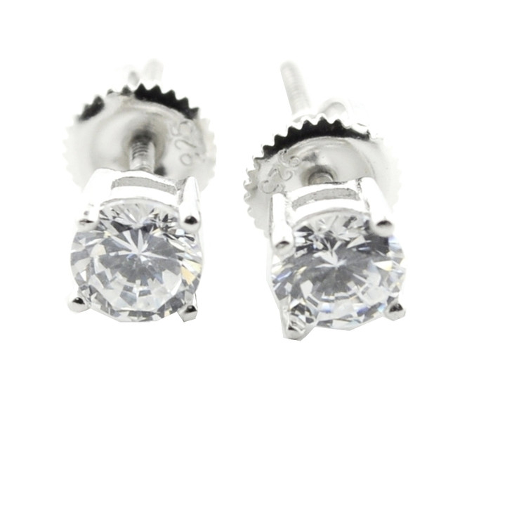 Sterling Silver Bling Earrings