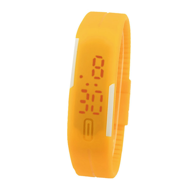Thin Girl Ultra Sports Silicone Digital LED Sports Wrist Watch