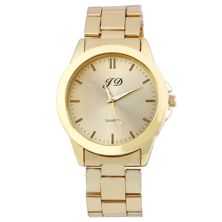 Mens Luxury Gold Watch