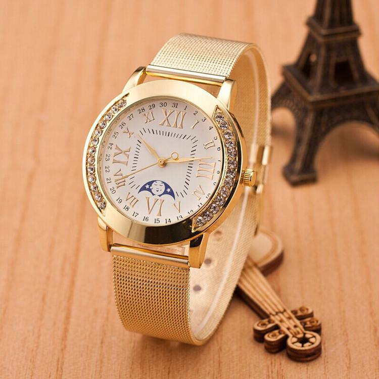 Diamond Bezel Classic Girlfriend Watch