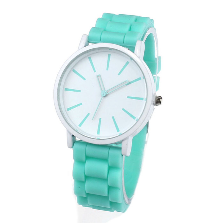 Women's Soft Band Jelly Gel Quartz Analog Watch