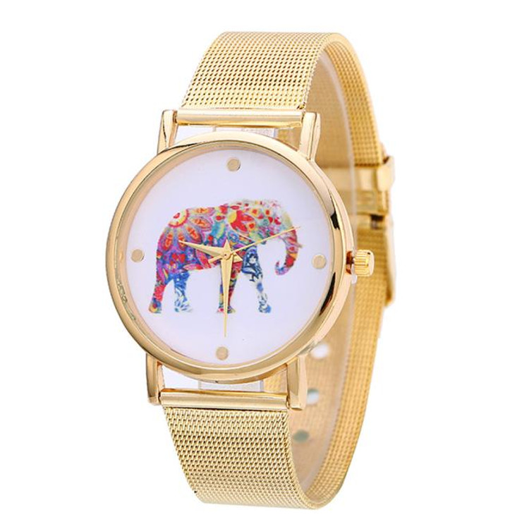 Rainbow Elephant Watch