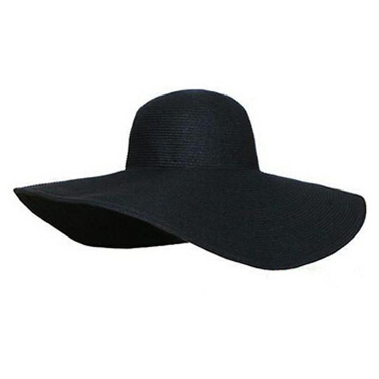 Summer Women Foldable Wide Large Brim Floppy Beach Hat
