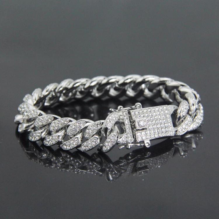 Silver Lab Diamond Bracelet