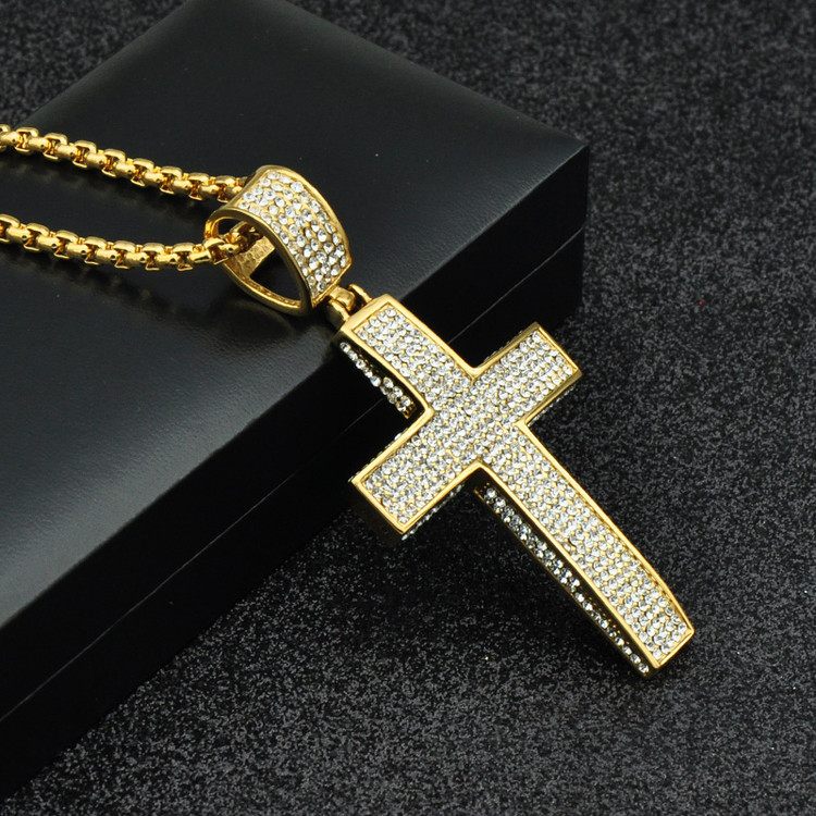 Hip Hop Cross Pendant