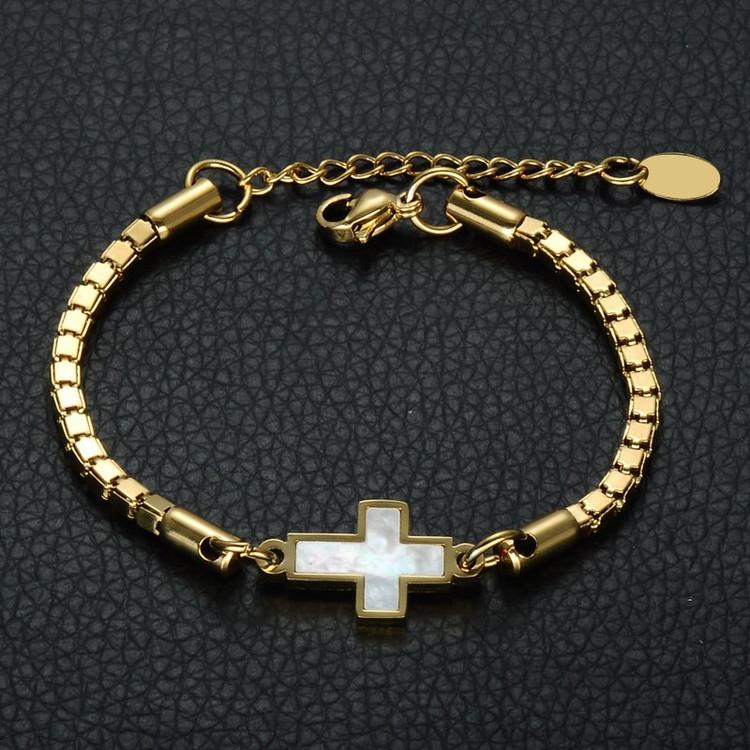 Christian Prayer Cross Bracelet