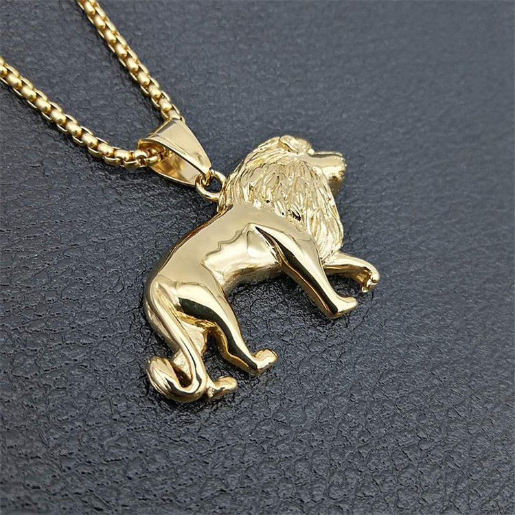 King Of The Jungle Hop Hop African Lion Chain