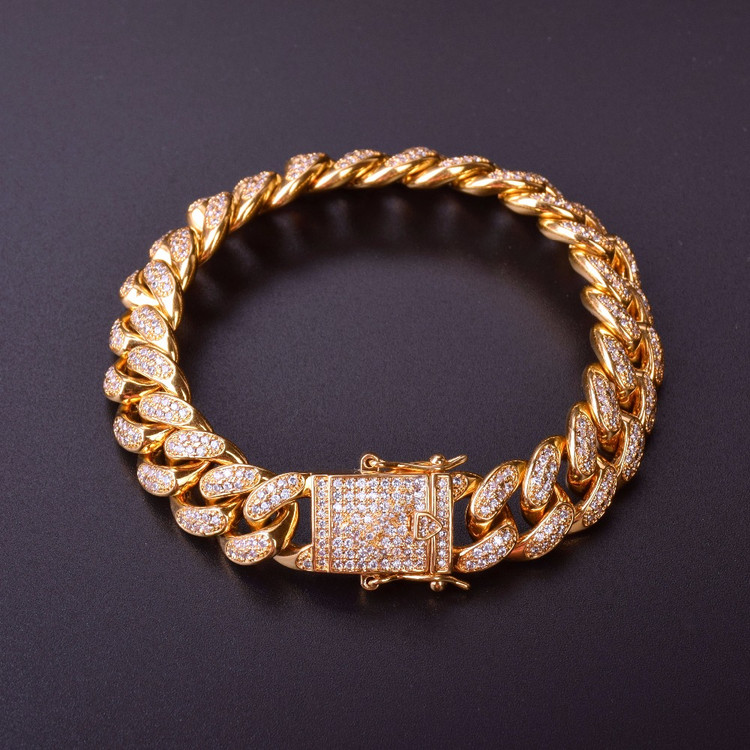 14MM Mens Curb Cuban Link