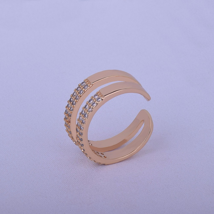 Open Shape Lab Diamond Round Cut Womens Ring