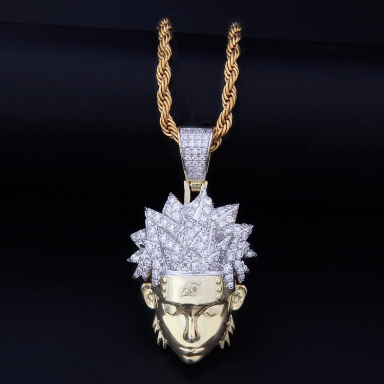 Naruto Uzumaki Pendant Chain Necklace