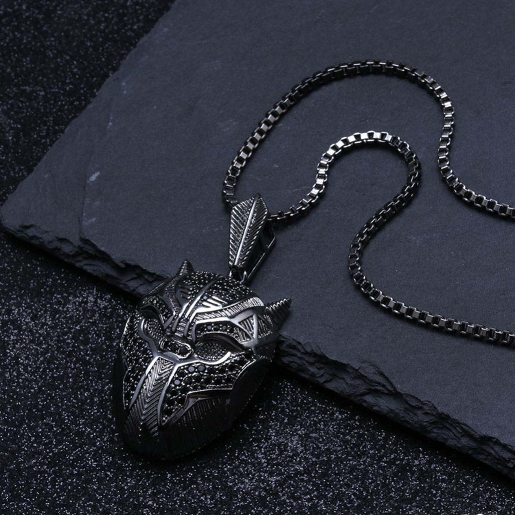 Black Panther Mask Chain