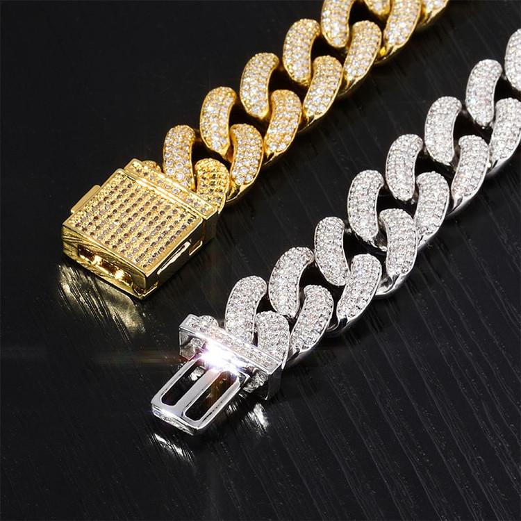 14mm Hip Hop Micro Pave Bling Bracelet