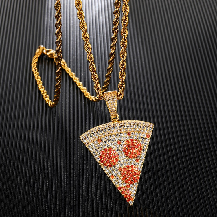 Hip Hop Pizza Pendant