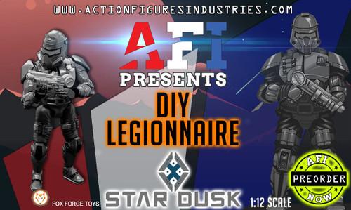 """Star Dusk DIY Legionnaire 6"""" Figure"""