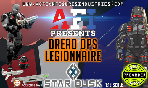 "Star Dusk Dread Ops 6"" Figure"