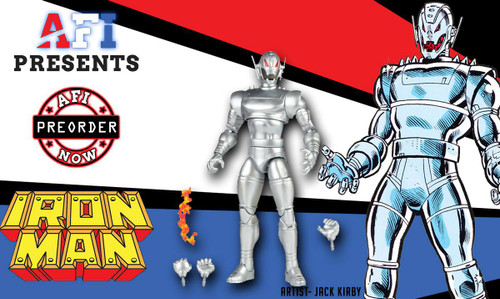 Marvel Legends Comic Ironman Wave Classic Ultron