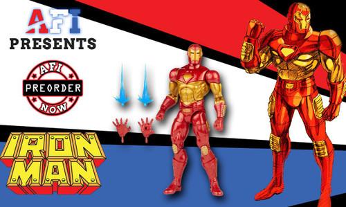 Marvel Legends Comic Ironman Wave Modular Ironman
