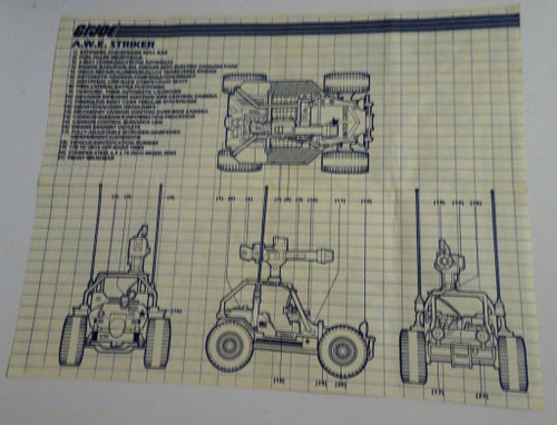 AWE Striker 1985 Blueprint GiJoe