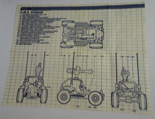 AWE Striker 1985 Blueprint GiJoe