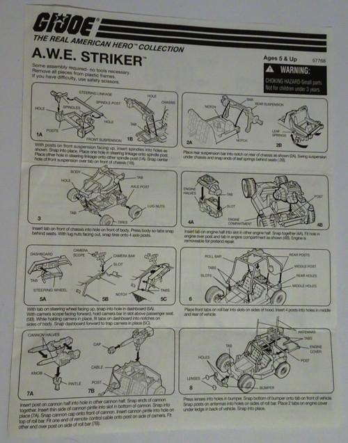 A.W.E Striker RAH Collection Blueprint GiJoe