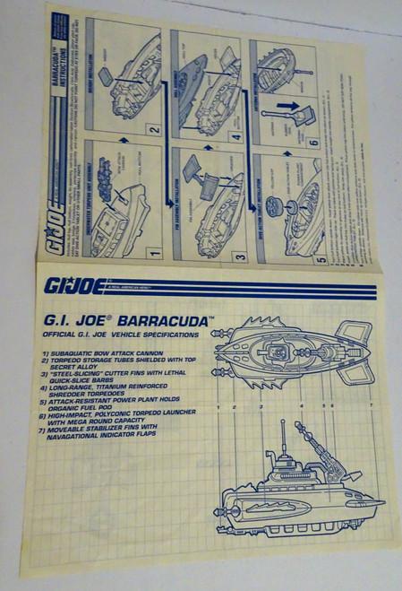 Barracuda 1992 Blueprint GiJoe