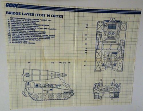 Bridge Layer 1985 Blueprint #2