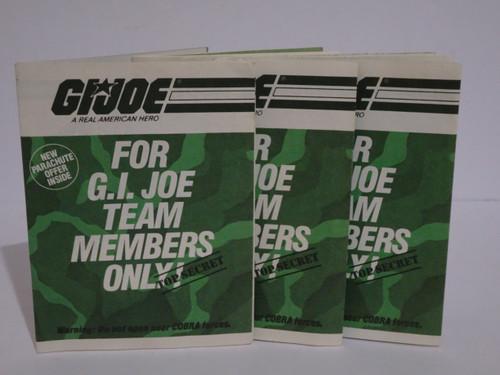 GIJOE 1984 Mailaway Catalouge