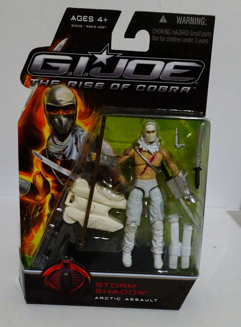 Storm Shadow Arctic Assault Rise of Cobra No Tattoo Variant MOC GiJoe