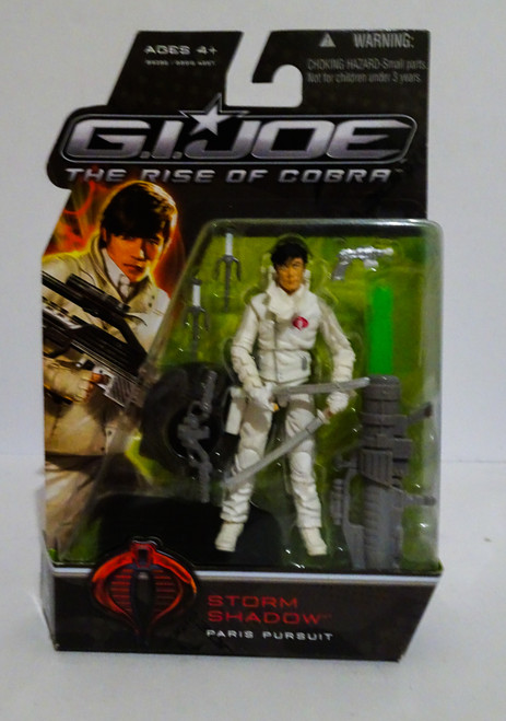 Storm Shadow Paris Pursuit Rise of Cobra Unmasked Variant GiJoe