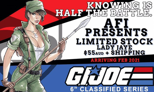 "Gi Joe Classified 6"" Lady Jaye"