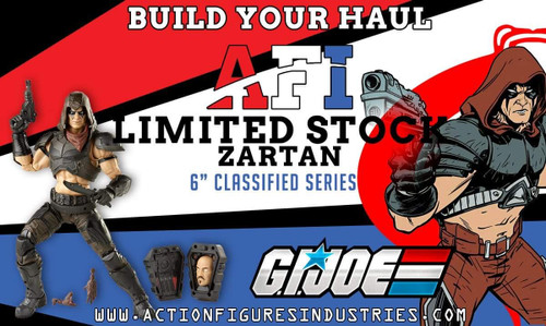 "Gi Joe Classified 6"" Zartan"