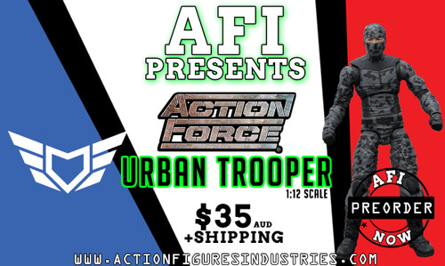 valaverse action force urban trooper