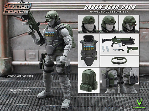 Action Force Urban Gear Pack