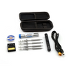 Sequre SQ-001 Soldering Iron Kit - 4 Tips, Stand, Wick, Solder, Case