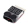 Lipo Battery LED Voltage Meter Indicator / LV alarm 2-8S